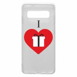 Phone case for Samsung S10 I love presents