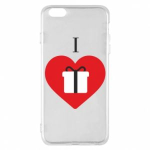 Phone case for iPhone 6 Plus/6S Plus I love presents