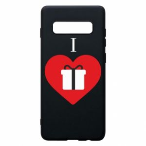 Phone case for Samsung S10+ I love presents