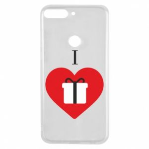 Phone case for Huawei Y7 Prime 2018 I love presents