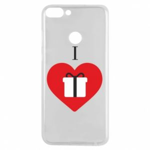 Phone case for Huawei P Smart I love presents