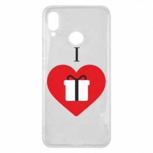 Phone case for Huawei P Smart Plus I love presents