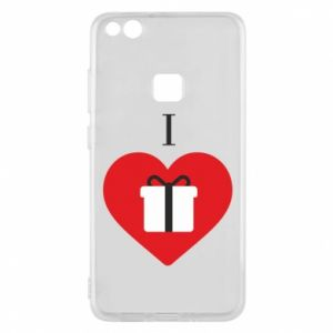Phone case for Huawei P10 Lite I love presents