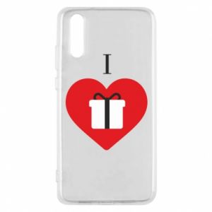 Phone case for Huawei P20 I love presents