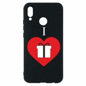 Phone case for Huawei P20 Lite I love presents