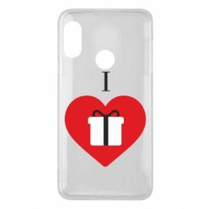 Mi A2 Lite Case I love presents