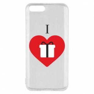 Xiaomi Mi6 Case I love presents