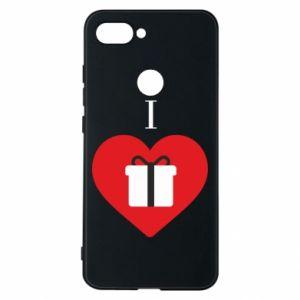 Xiaomi Mi8 Lite Case I love presents