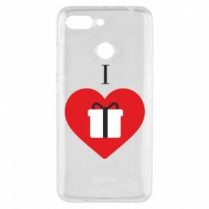 Xiaomi Redmi 6 Case I love presents