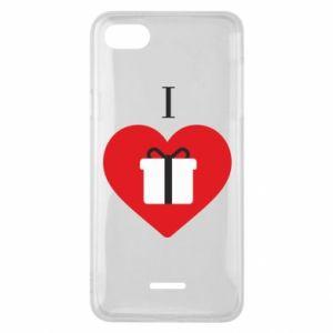 Xiaomi Redmi 6A Case I love presents