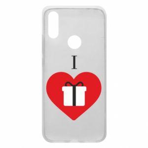 Xiaomi Redmi 7 Case I love presents