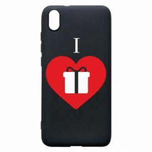 Xiaomi Redmi 7A Case I love presents