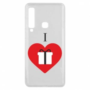 Phone case for Samsung A9 2018 I love presents