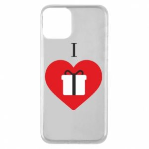 Phone case for iPhone 11 I love presents
