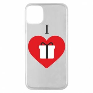 Phone case for iPhone 11 Pro I love presents