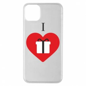 Phone case for iPhone 11 Pro Max I love presents