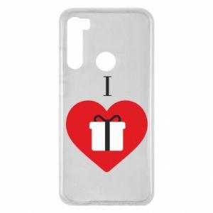 Xiaomi Redmi Note 8 Case I love presents