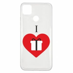Xiaomi Redmi 9c Case I love presents