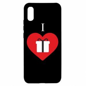 Xiaomi Redmi 9a Case I love presents