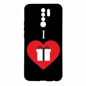 Xiaomi Redmi 9 Case I love presents