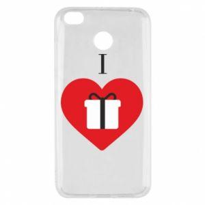 Xiaomi Redmi 4X Case I love presents