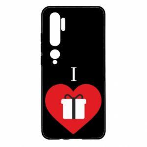 Xiaomi Mi Note 10 Case I love presents