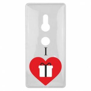 Sony Xperia XZ2 Case I love presents