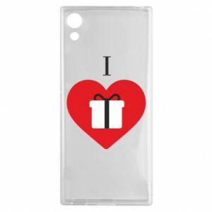 Sony Xperia XA1 Case I love presents