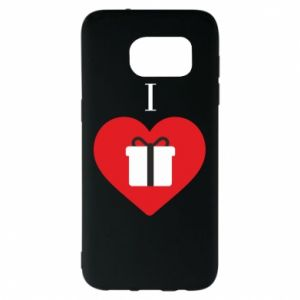 Etui na Samsung S7 EDGE I love presents