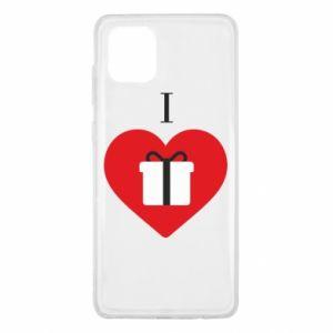 Samsung Note 10 Lite Case I love presents
