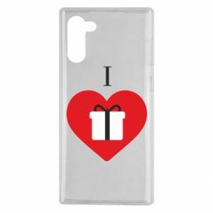 Samsung Note 10 Case I love presents