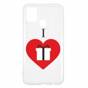 Samsung M31 Case I love presents