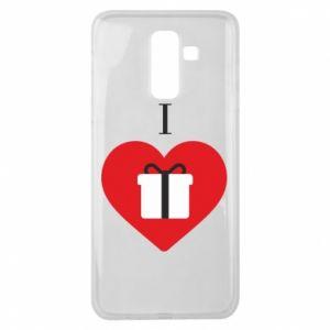 Samsung J8 2018 Case I love presents