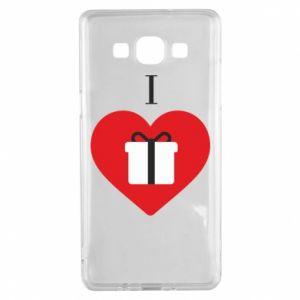 Etui na Samsung A5 2015 I love presents