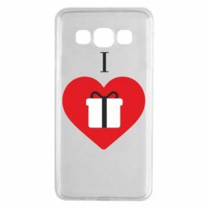 Samsung A3 2015 Case I love presents