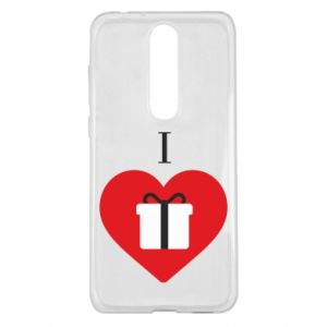 Etui na Nokia 5.1 Plus I love presents