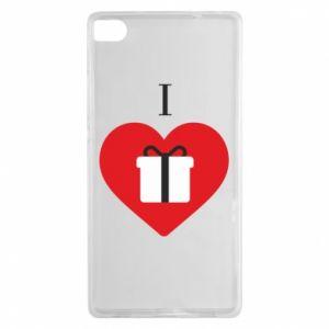 Huawei P8 Case I love presents