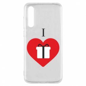 Huawei P20 Pro Case I love presents