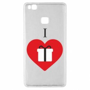 Huawei P9 Lite Case I love presents
