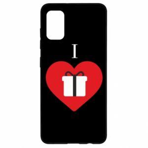 Etui na Samsung A41 I love presents
