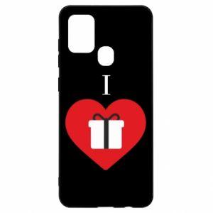 Etui na Samsung A21s I love presents