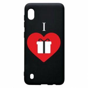 Samsung A10 Case I love presents