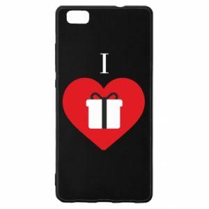 Huawei P8 Lite Case I love presents