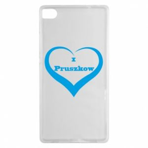 Huawei P8 Case I love Pruszkow