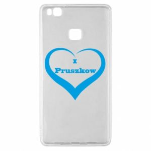 Huawei P9 Lite Case I love Pruszkow
