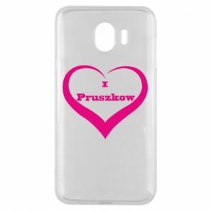 Phone case for Samsung J4 I love Pruszkow