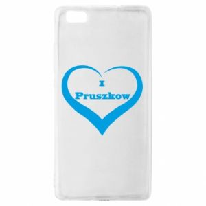 Huawei P8 Lite Case I love Pruszkow