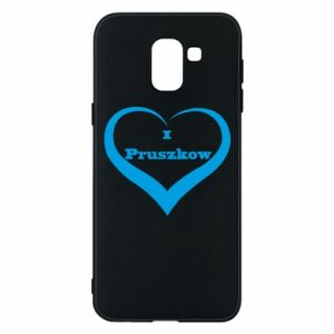 Phone case for Samsung J6 I love Pruszkow