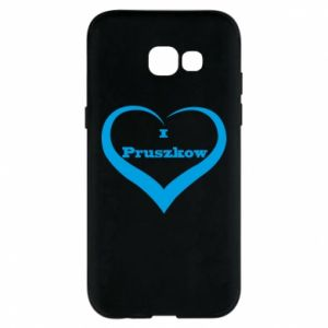 Phone case for Samsung A5 2017 I love Pruszkow
