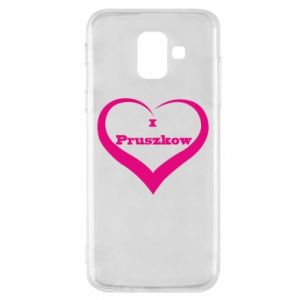 Phone case for Samsung A6 2018 I love Pruszkow